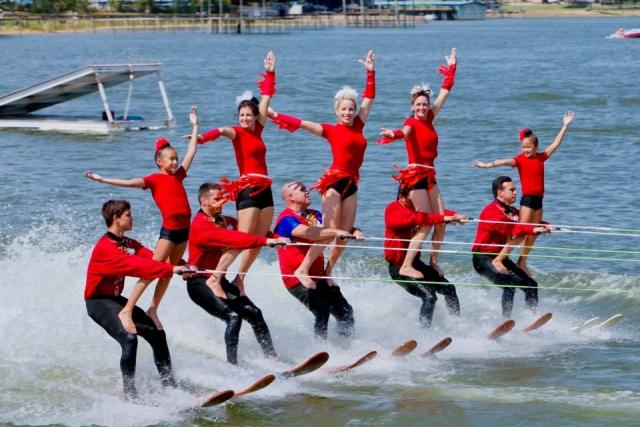 Zondag 26 juni Waterskiën!
